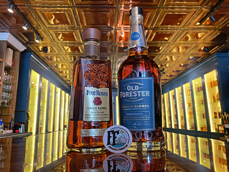 forecastle foundation four roses old forester