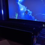The large-format experience (LFX) theater shows first-run movies and hosts events.