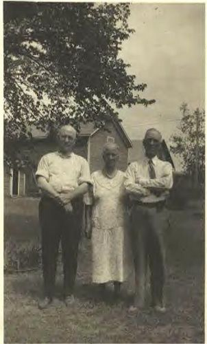 George, Mary, Horace Bromley