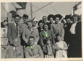 Arthur and Ellen Cook and family