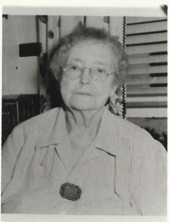 Mrs. William C. (Mary Belle Savage) Byce, 1950