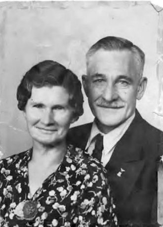 G-Grandparents Perry and Millie Kern