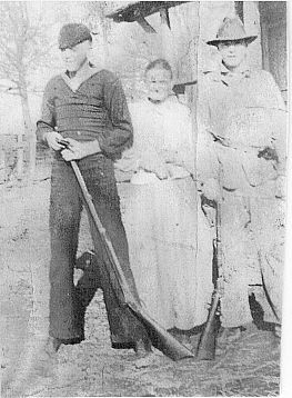 Clara Case and her two youngest sons