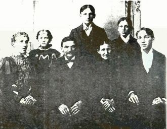 Gustave & Sophie Glassman Family, 1895