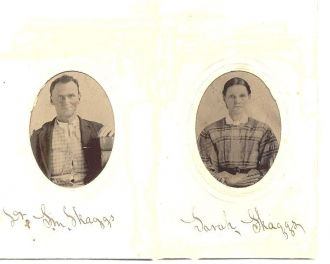 Dr. Samuel Meshach Skaggs & Wife Sarah Roupe