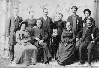 Joseph Phillips Family
