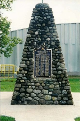 Herman Woodburn Astels memorial