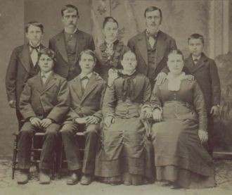 Binkley family, 1873