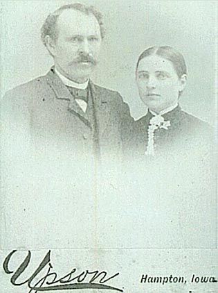 Elizabeth Mallory and husband Henry Brown Daniels