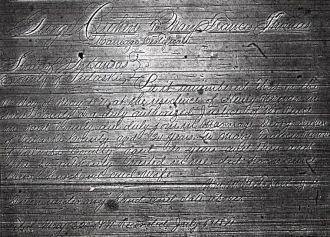 George & Fannie Dreher's Marriage License