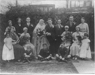 WEDDING OF AGNES ANNE RANSON TO REGINALD GREENER