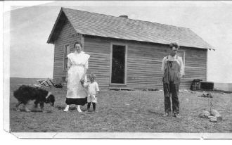 Montana Farm House ca 1919