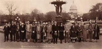 Collinsville High School Trip, 1926