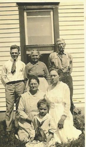 George W. & Priscilla (Sheeks) Carr & Family