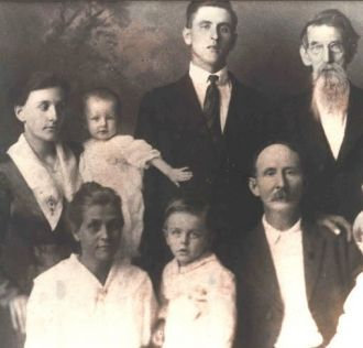 Buck & Jane Pursley Family, KY 1917