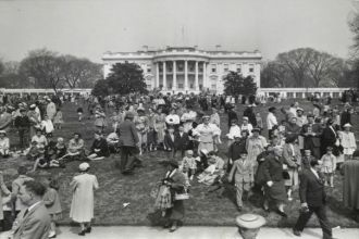 Eisenhower's Easter Egg Roll