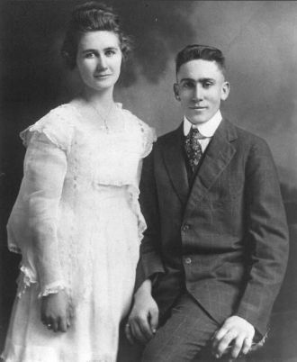 Tom and Gladys Baughman, 1918
