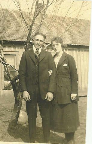 Roy E. Neal With His Wife, Beulah (White)