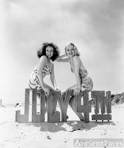 Susan Hayward & Virginia Dale