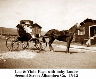 Lee, Viola, & Louise Page, California 1912