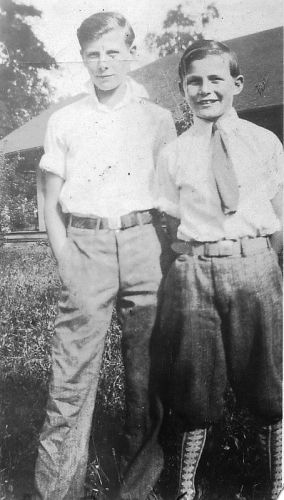 Two Teen Brothers, 1930