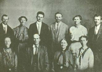 James Anderson and Hannah Matilda Cheney Family