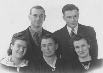 Walter Wahl Family