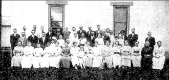James McClure Family Reunion, 1914 OH
