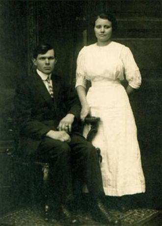 Carl Frederick Dittmer and Martha Jane White
