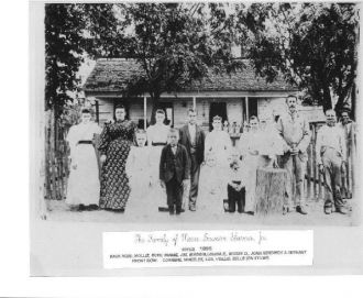 Moses Dawson Starnes, Jr. and family