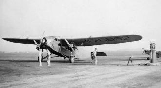 Old Ford Trimotor