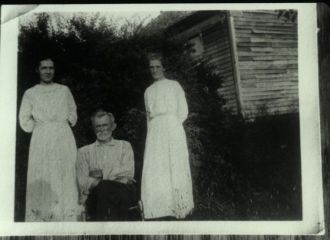 James Henry Eversole & Two of His Daughters