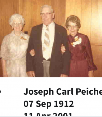 Carl and Mary Peichel,  Anne Walerius