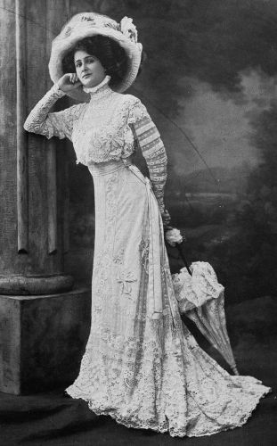 1908 Edwardian Fashion