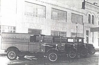 A. Braunger Produce Co. Trucks