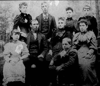 William H. Snell Family, 1893