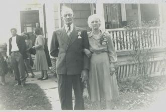 Frank and Mamie Long, Indiana 1951