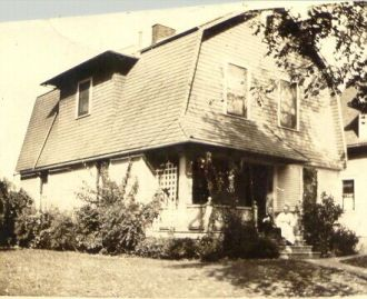 Home of John and Mary Vogel, 1919