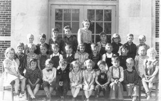 Mill Creek School, 1941