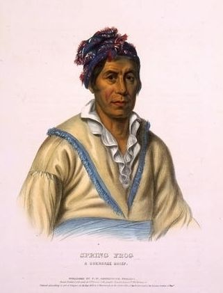 Spring Frog, a Cherokee chief