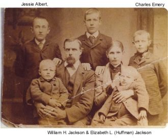 William Jackson family Hickory  Co. , Mo.