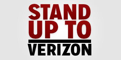 Stand Up to Verizon