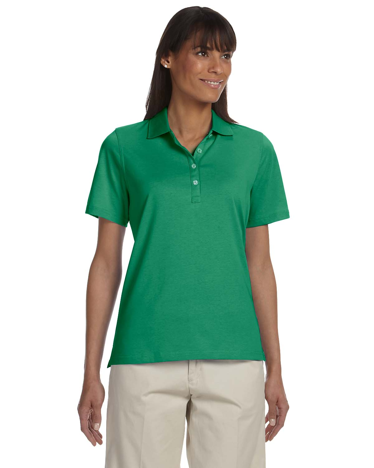 Ashworth-Women-039-s-High-Twist-Cotton-Tech-Polo-1147C-S-2XL thumbnail 8