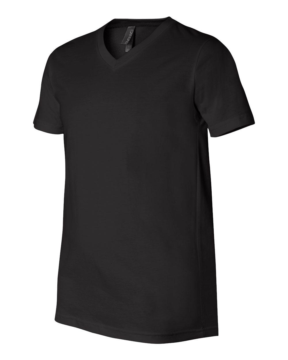 Bella-Canvas-Men-039-s-Jersey-Short-Sleeve-V-Neck-T-Shirt-3005-XS-3XL thumbnail 55