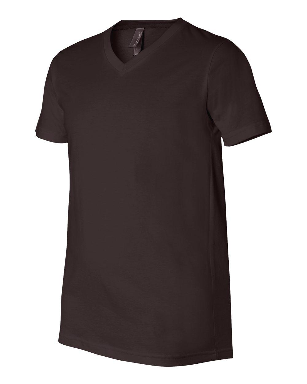 Bella-Canvas-Men-039-s-Jersey-Short-Sleeve-V-Neck-T-Shirt-3005-XS-3XL thumbnail 97