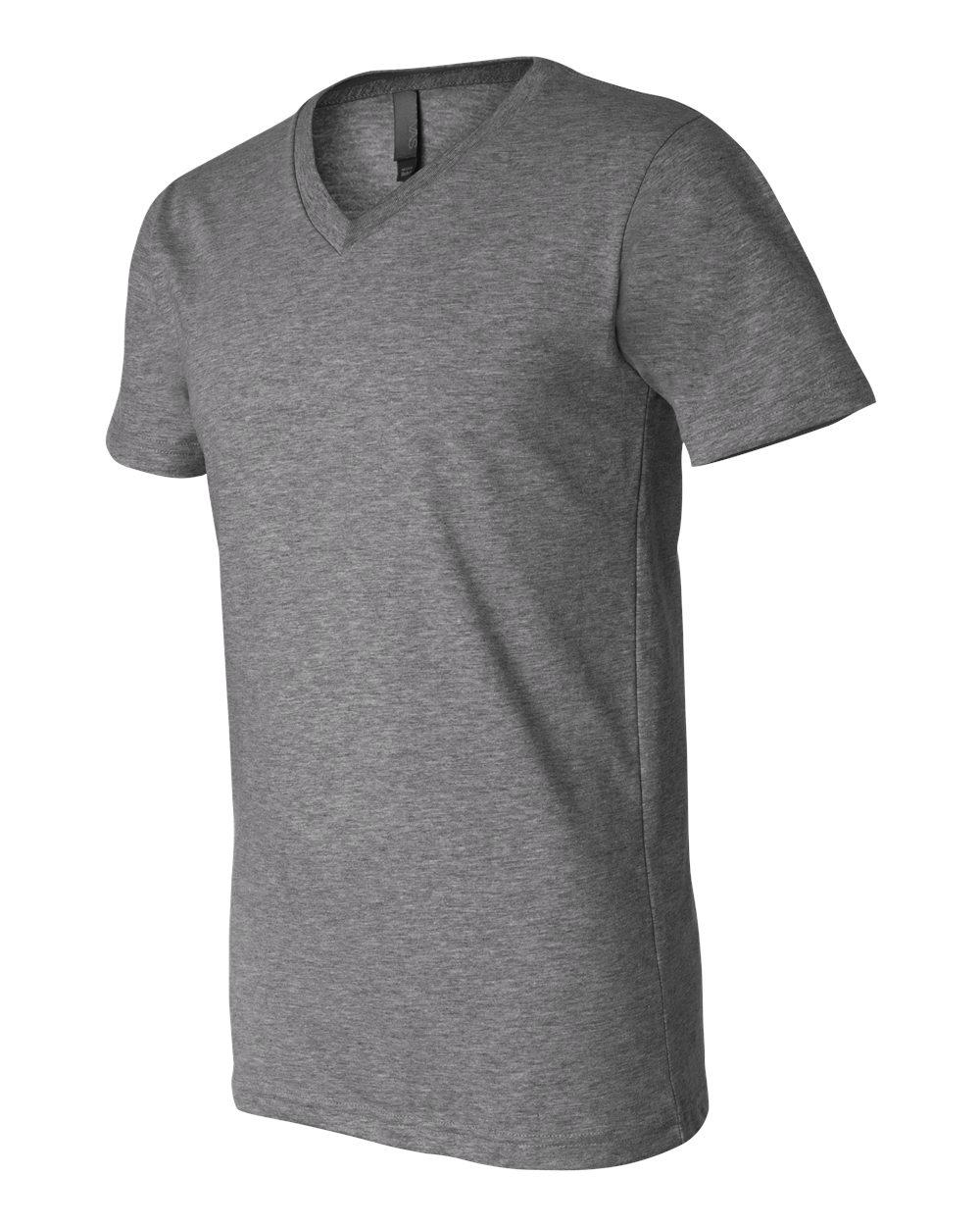 Bella-Canvas-Men-039-s-Jersey-Short-Sleeve-V-Neck-T-Shirt-3005-XS-3XL thumbnail 73