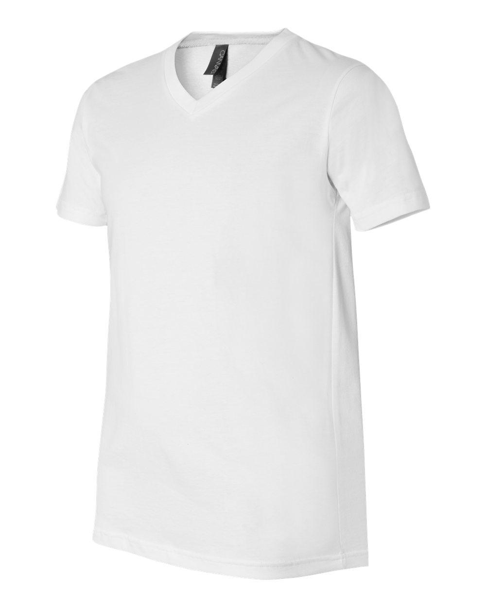 Bella-Canvas-Men-039-s-Jersey-Short-Sleeve-V-Neck-T-Shirt-3005-XS-3XL thumbnail 106