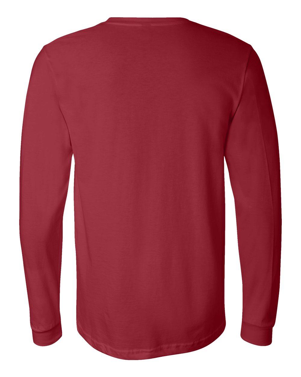 df16800eec5a Bella Canvas Men s Jersey Long-Sleeve T-Shirt 3501 XS-2XL