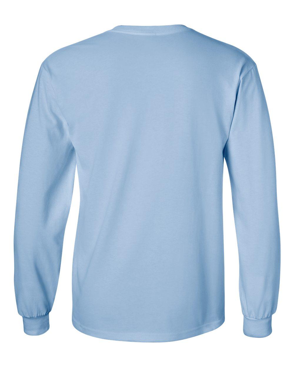 Gildan-Men-039-s-Ultra-Cotton-6-oz-Long-Sleeve-T-Shirt-G240-S-5XL thumbnail 48