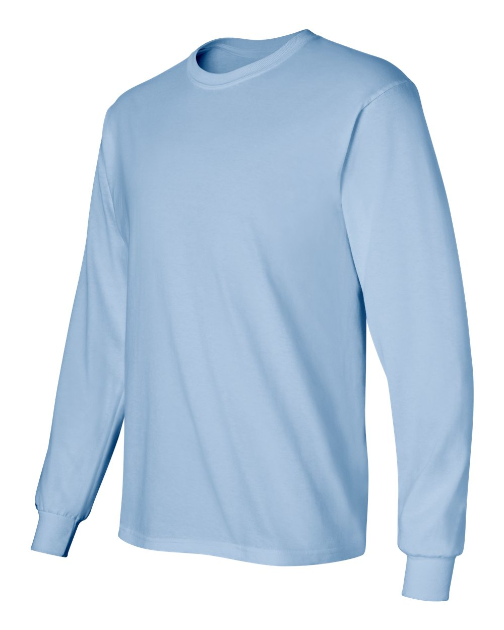 Gildan-Men-039-s-Ultra-Cotton-6-oz-Long-Sleeve-T-Shirt-G240-S-5XL thumbnail 47